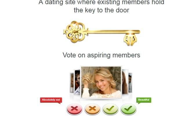 No site, os próprios usuários votam em quem eles consideram pessoas bonitas, ou feias, para que seja aceitas
