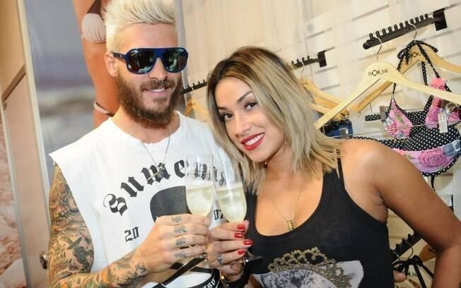 Mateus Verdelho e Dani Bolina: tattoos como provas de amor