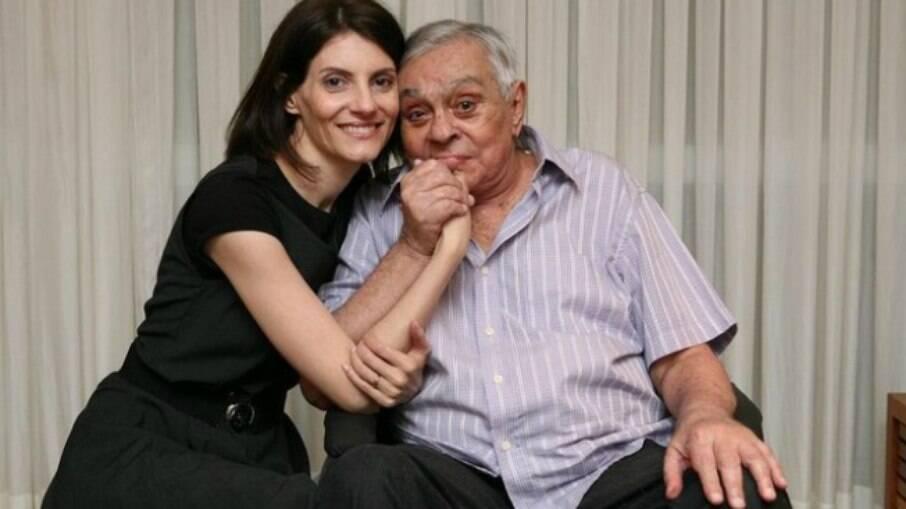 Malga e Chico Anysio
