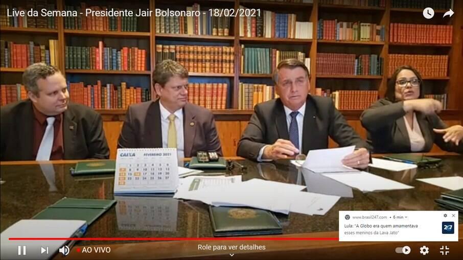 Cartão de vacinação da mãe de Bolsonaro indica que ela recebeu Coronavac