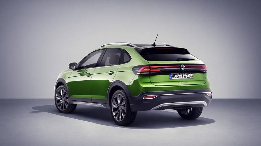 Produzido na moderna fábrica da Volkswagen em Pamplona, na Espanha, o Taigo utiliza a Estratégia Modular MQB