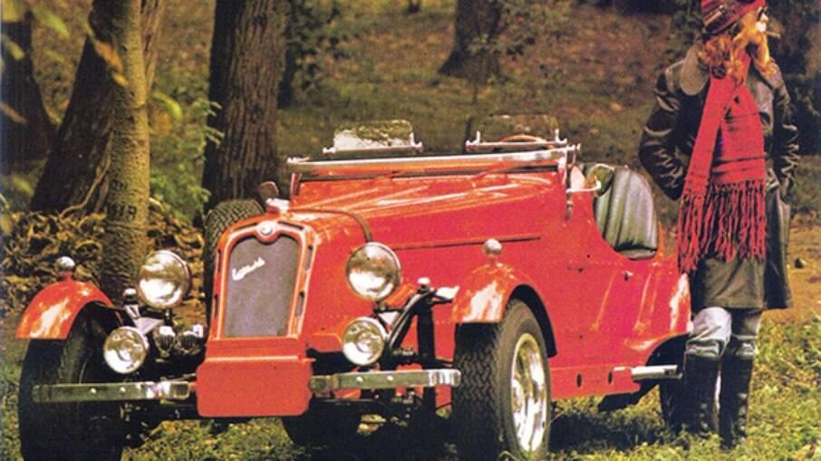 L'Autocraft era réplica do Alfa Romeo P3 da década de 1930