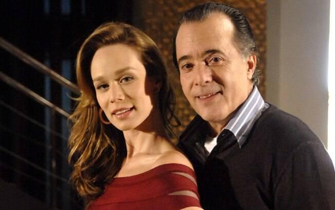 Mariana Ximenes e Tony Ramos em