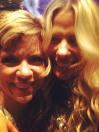 Encontro das amigas: Astrid Fontenelle e Adriane Galisteu