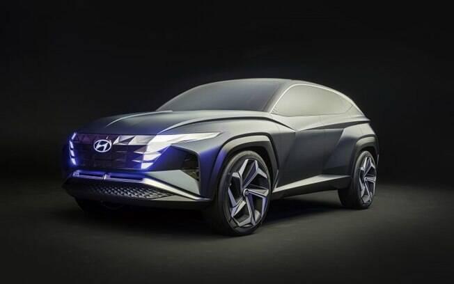 Hyundai Vision T Concept é a versão conceitual do novo Tucson que será lançado no segundo semestre de 2020