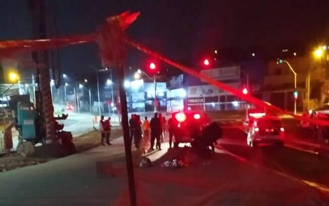 Acidente fatal ocorreu na Rua Piracicaba, em Campinas.