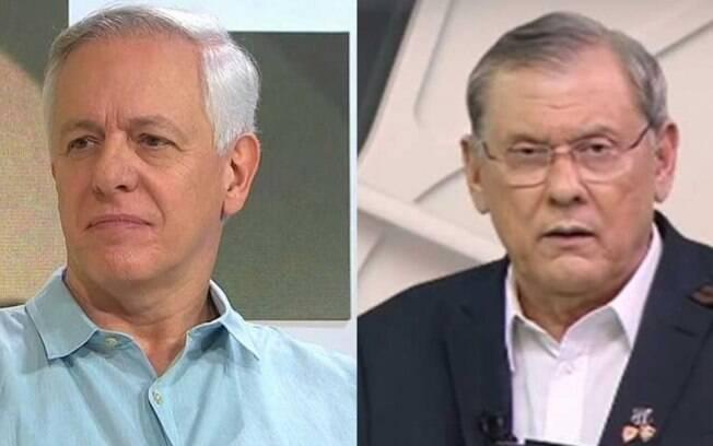 Milton Leite e Milton Neves