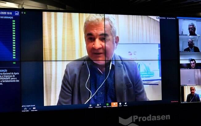 O presidente da CPI das Fake News, senador Angelo Coronel (PSD-BA), apresentou requerimento de informações ao Facebook