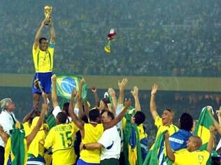 Brasil é campeão da Copa de 2002