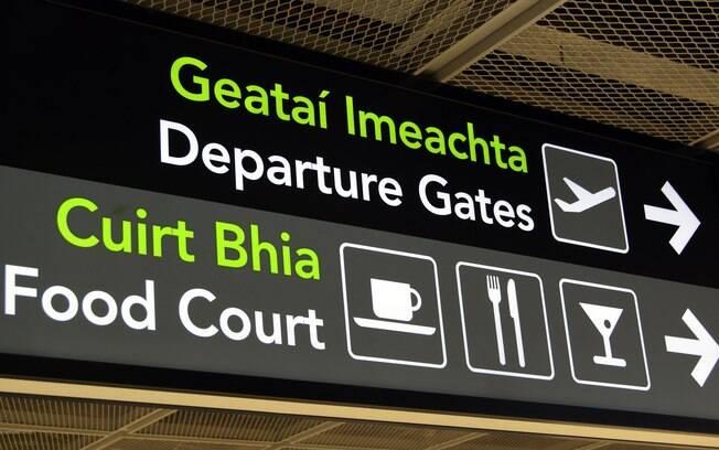 O aeroporto de Dublin afirmou estar trabalhando para achar as causas do problema que o passageiro enfrentou