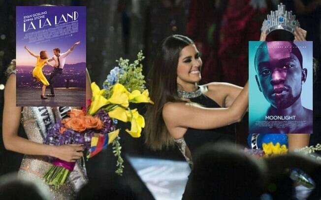 Gafe no Oscar também virou meme e foi comparado ao erro no Miss Universo de 2016