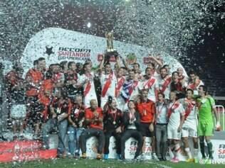 Gol de Sánchez deu título que River nunca havia conquistado na história