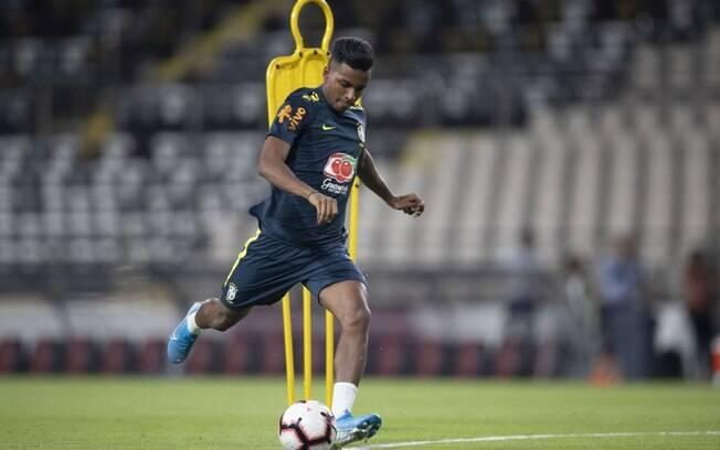 Rodrygo foi chamado para seleção brasileira