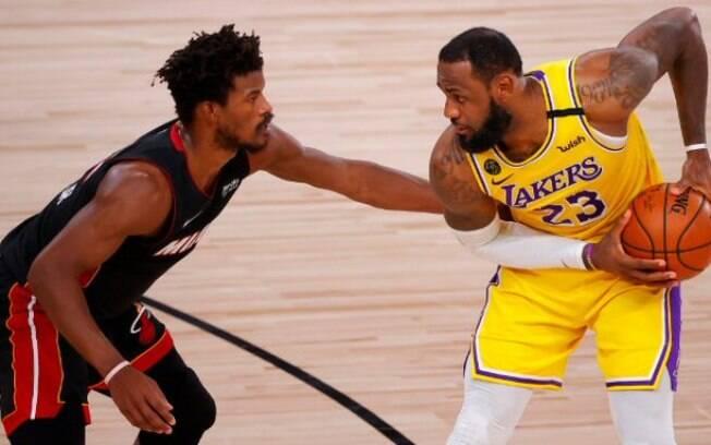 Los Angeles Lakers e Miami Heat decidem a NBA