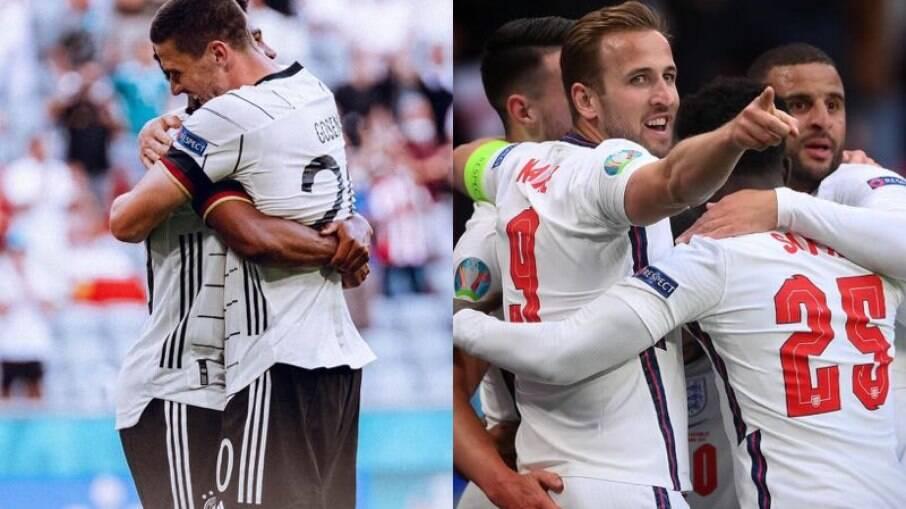 Inglaterra X Alemanha