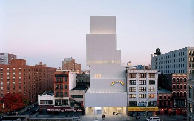 O The New Museum já se destaca por sua construção moderna, mas, além disso, apresenta artistas promissores
