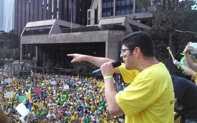 Rogério Chequer, líder do Vem Pra Rua: