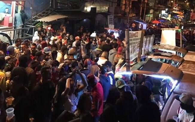 Baile funk em Paraisópolis