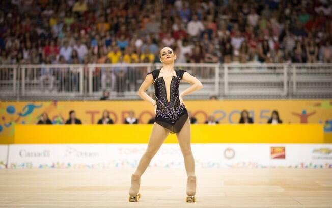 Talitha Haas, atleta brasileiro da patinação artística