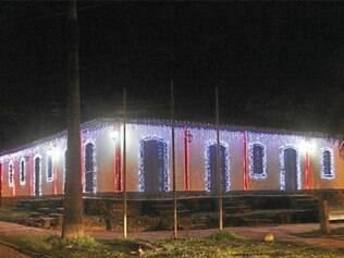 Casa da Cultura também recebeu iluminação especial
