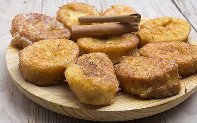 Rabanada, sobremesa tradicional do Natal, também pode ser feita na versão sem glúten