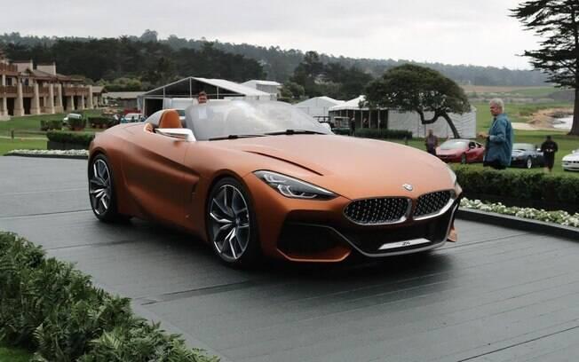 Novo BMW Z4  foi mostrado na Califórnia. Marca avaliou ser mais adequado do que em qualquer salão do automóvel