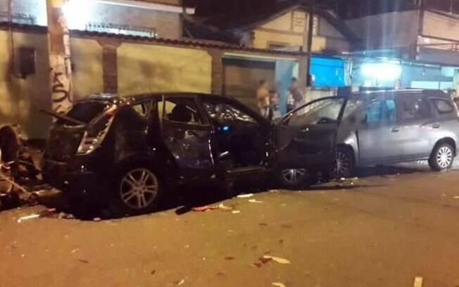 Atropelamento em Rocha Miranda deixou pelo menos cinco pessoas feridas, sendo uma delas um bebê