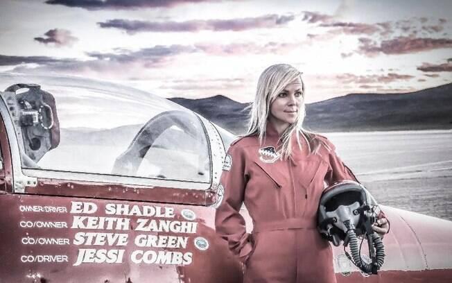 Pilota Jessi Combs
