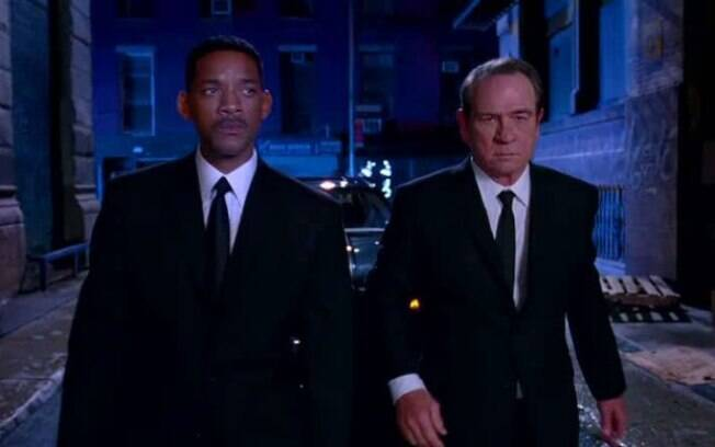 Will Smith e Tommy Lee Jones são os protagonistas na franquia de
