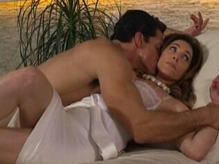 Carlos Machado como Ferdinand e Cristiane Torloni como Tereza Cristina: fixação na patroa