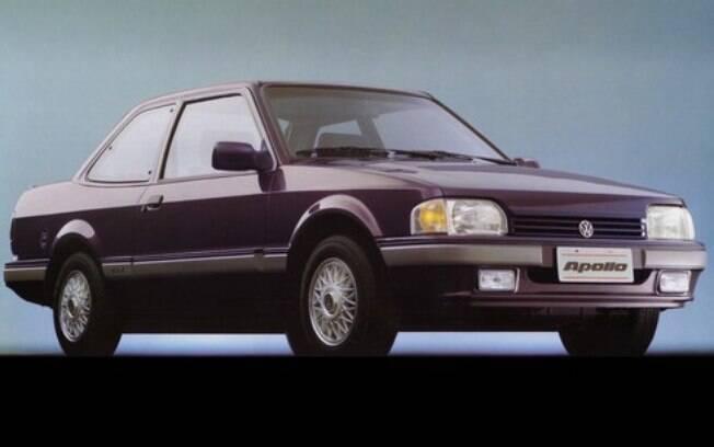 Volkswagen Apollo: o primeiro Volkswagen com plataforma da Ford, tinha um certo apelo esportivo