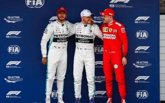 Líder do campeonato, Bottas fez o melhor tempo na madrugada deste sábado e vai largar na pole do GP da China