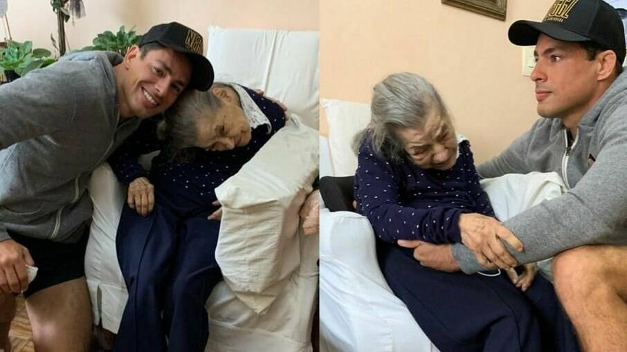 Cauã Reymond homenageia a avó pelos 100 anos