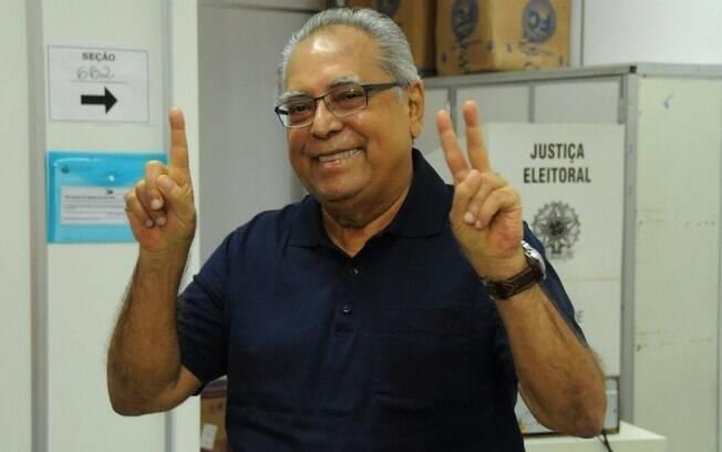 O pedetista Amazonino Mendes é uma figurinha carimbada no rol de governadores amazonenses e disputa o cargo pela quinta vez; segundo turno das eleições será no próximo dia 28 de outubro