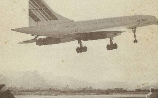 O dia que um Concorde deu um rasante no Rio de Janeiro
