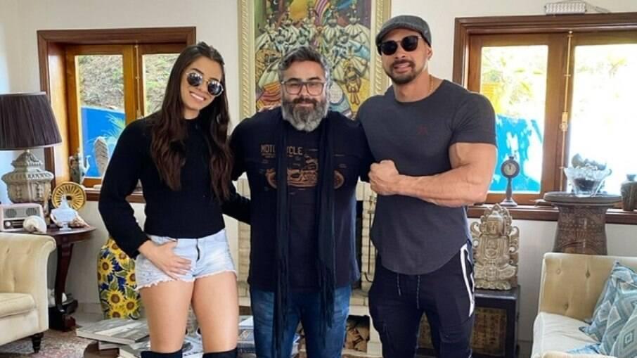 Keyla Alves, Betinho Alves e Felipe Franco