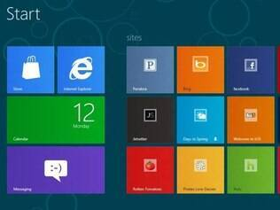 Com visual bem diferente do Windows de hoje, Windows 8 chega no segundo semestre