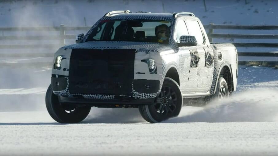 Ford Ranger 2023 será fabricada na Argentina e de lá seguirá para o Brasil como linhas da irmã menor Maverick