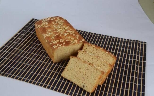 Receita simples de pão de batata-doce sem glúten e sem lactose