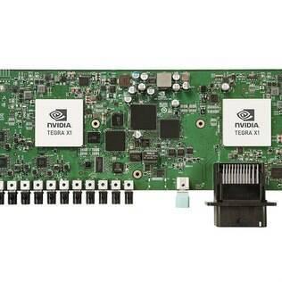 A placa DRIVE PX 2 da Nvidia