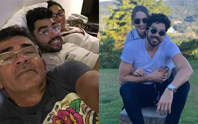 Família e namorada de Gabriel Diniz