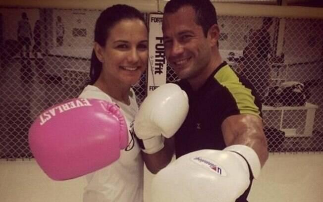 Kyra Grace e Malvino Salvador, o novo casal