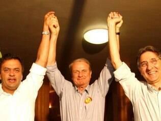 Opção. Marcio Lacerda evita concorrer com os seus apoiadores (Aécio e Pimentel) da primeira eleição