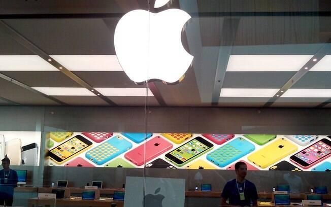 Apple Store do Rio de Janeiro, inaugurada em fevereiro deste ano