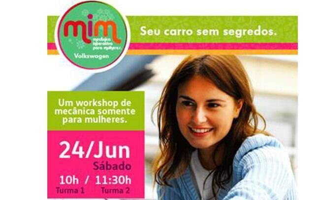 Rede Caraigá oferecerá workshop de mecânica interativa para mulheres