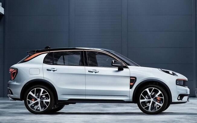 Lynk 01: SUV chinês vem com base da Volvo e pode ser compartilhado por meio de aplicativo de celular