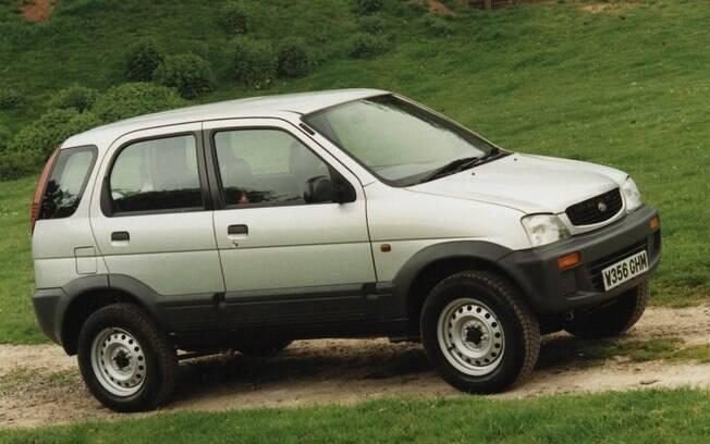 Poucos lembrar que o Daihatsu Terios foi vendido no Brasil. Isso justifica sua classificação entre os SUVs que fracassaram
