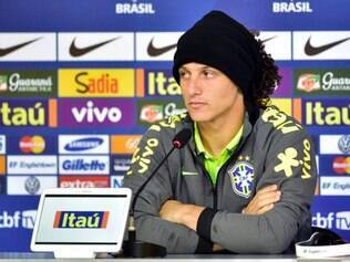 20-06-2014 Coletiva da Selecao Brasileira  David Luiz, zagueiro  da Selecao Brasileira de Futebol  Credito: Gaspar Nobrega/VIPCOMM