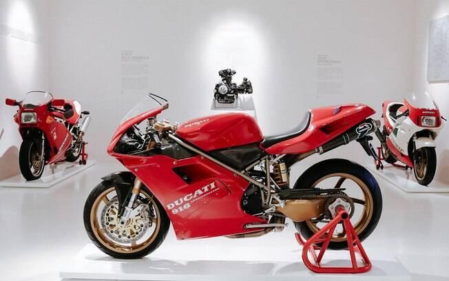 Museu da Ducati: uma série de recursos foram adotado para que os fãs da marca possam fazer a visita virtual da melhor maneira possível