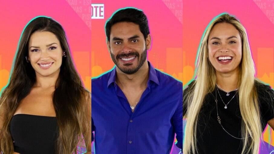 Juliette, Rodolffo e Sarah estão no paredão